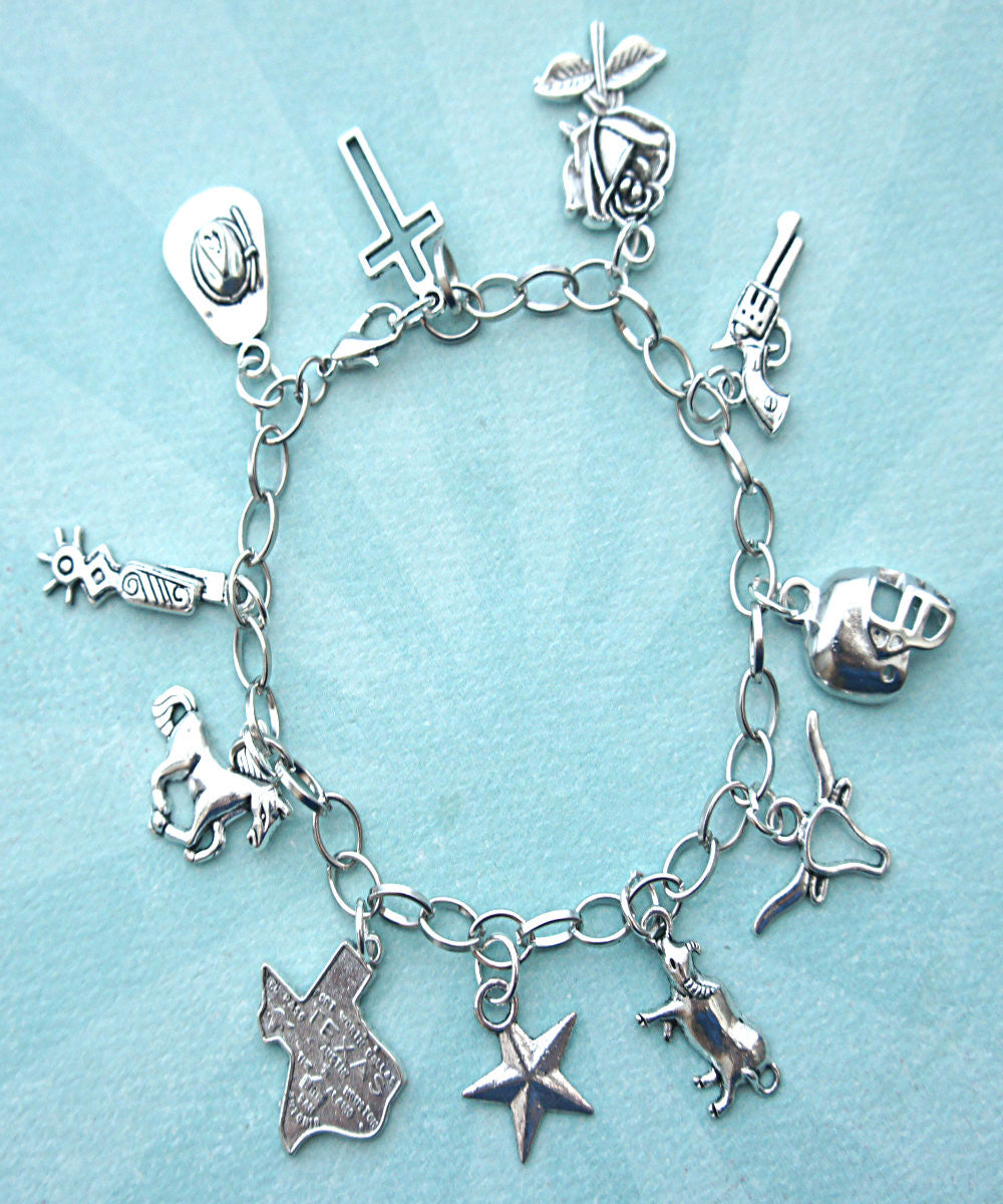 Texas Charm Bracelet - Jillicious charms and accessories - 3