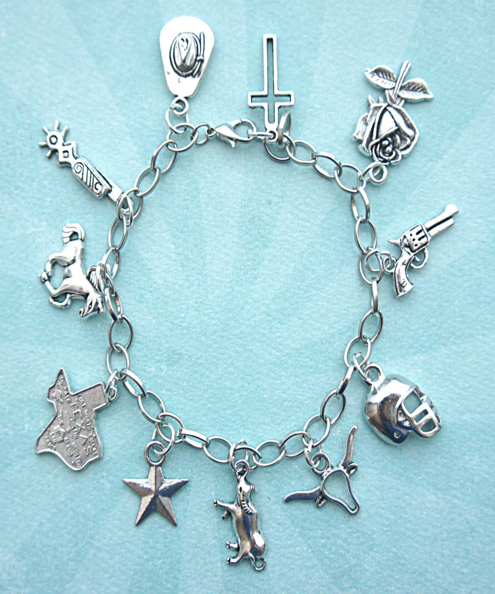 Texas Charm Bracelet - Jillicious charms and accessories - 1