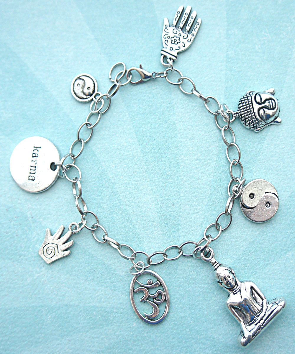 Meditation Charm Bracelet - Jillicious charms and accessories