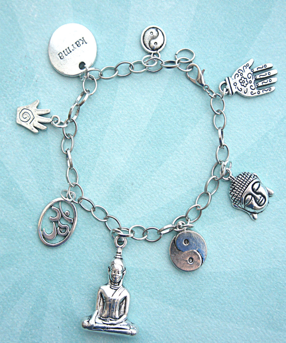 Meditation Charm Bracelet - Jillicious charms and accessories - 1