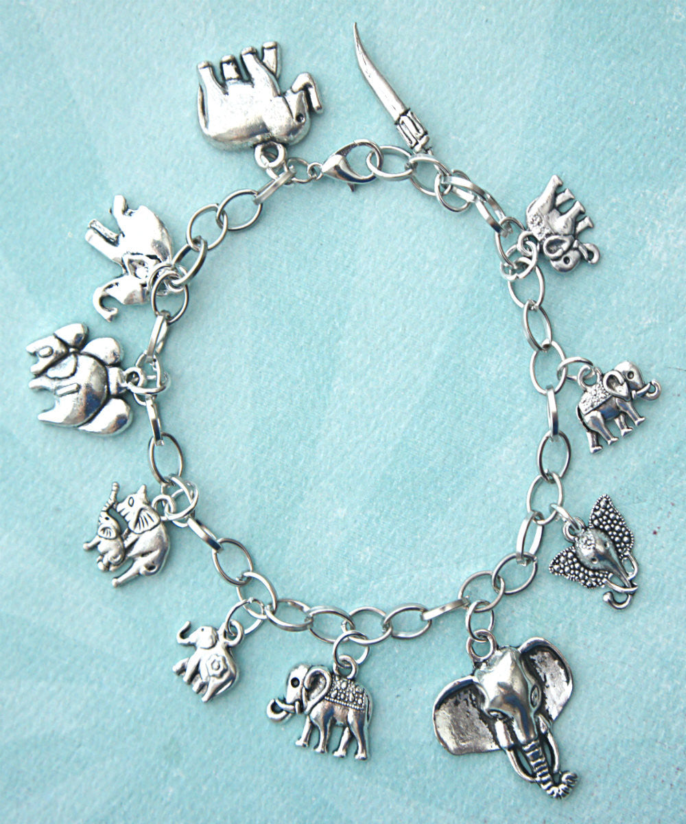 elephant charm bracelet - Jillicious charms and accessories - 3