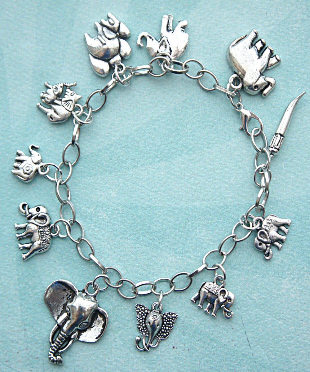 elephant charm bracelet - Jillicious charms and accessories - 2