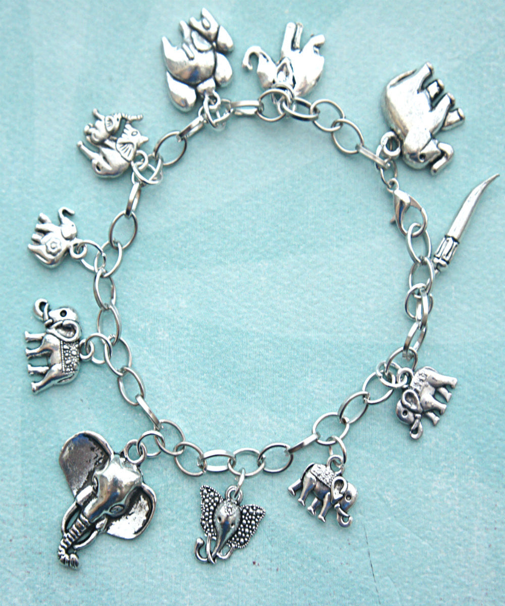 free bracelets products elephant and shipping off bracelet charm beautiful crystal