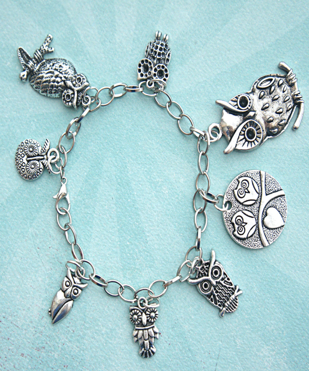 Owl Charm Bracelet - Jillicious charms and accessories - 3