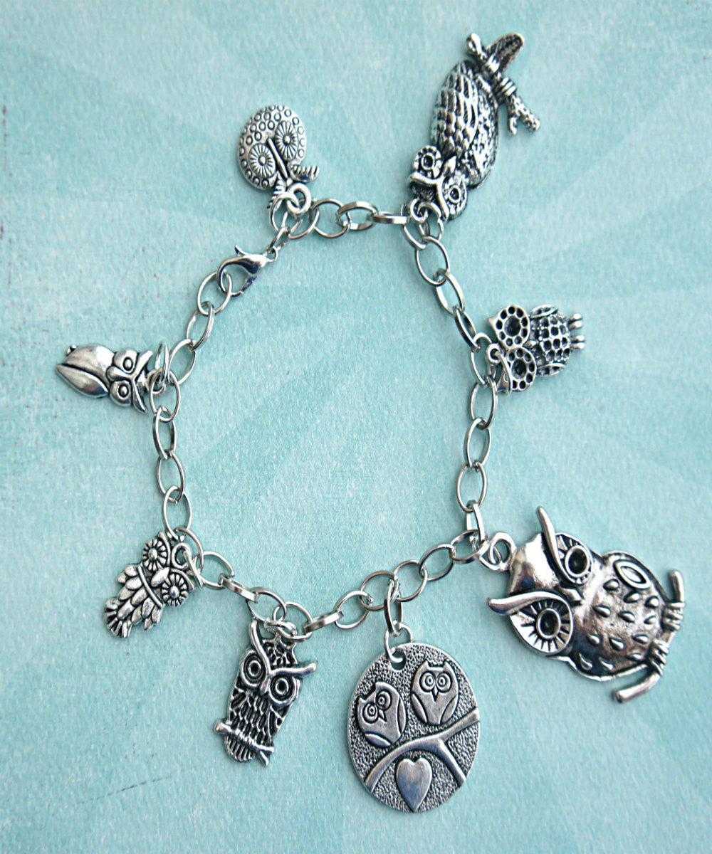 Owl Charm Bracelet - Jillicious charms and accessories - 2