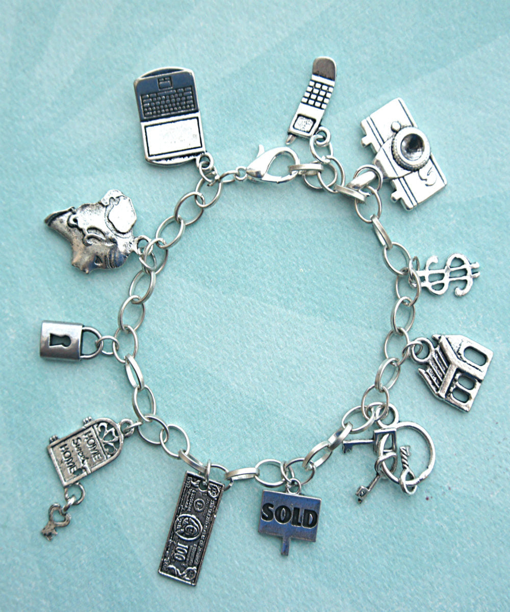 Realtor's Charm Bracelet - Jillicious charms and accessories - 2
