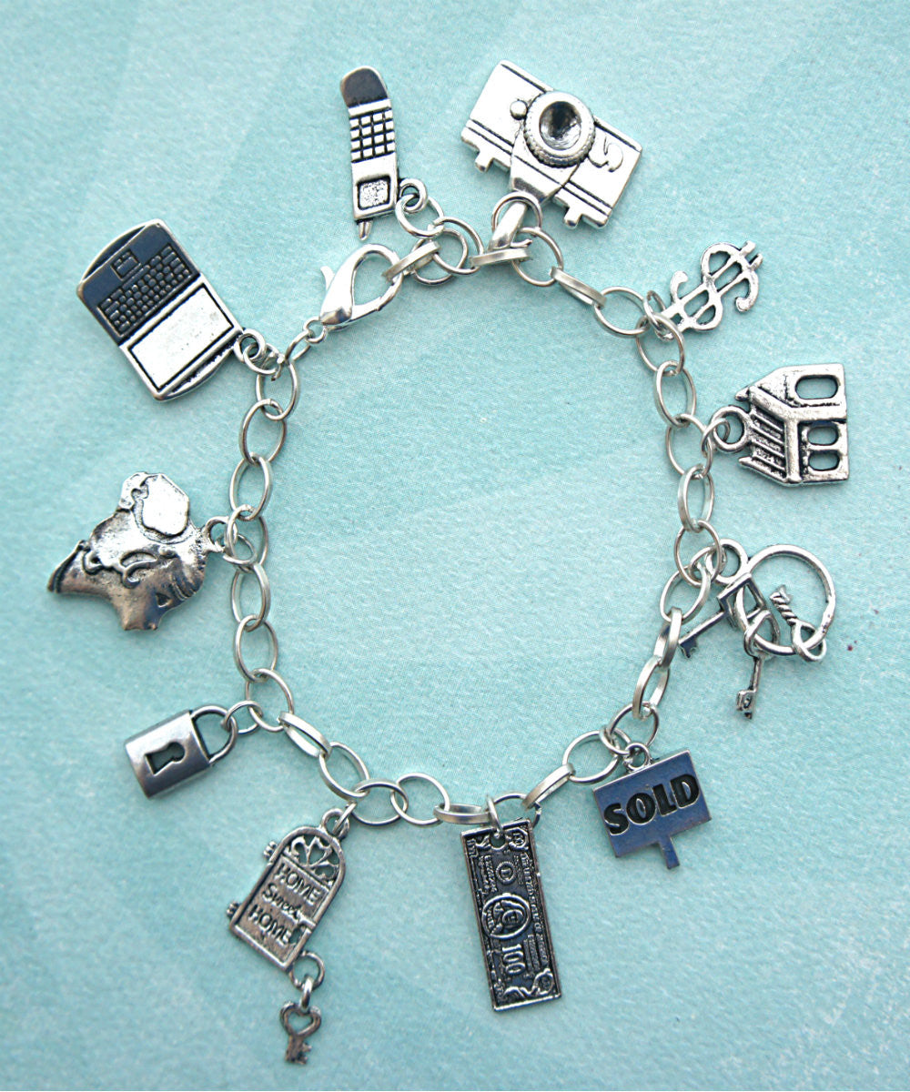 Realtor's Charm Bracelet - Jillicious charms and accessories - 1