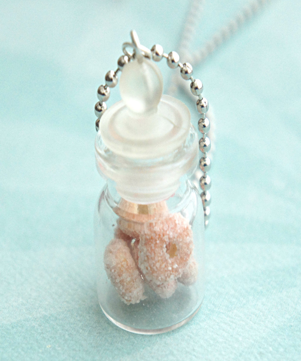 Sugar Donuts in a Jar Necklace - Jillicious charms and accessories - 2