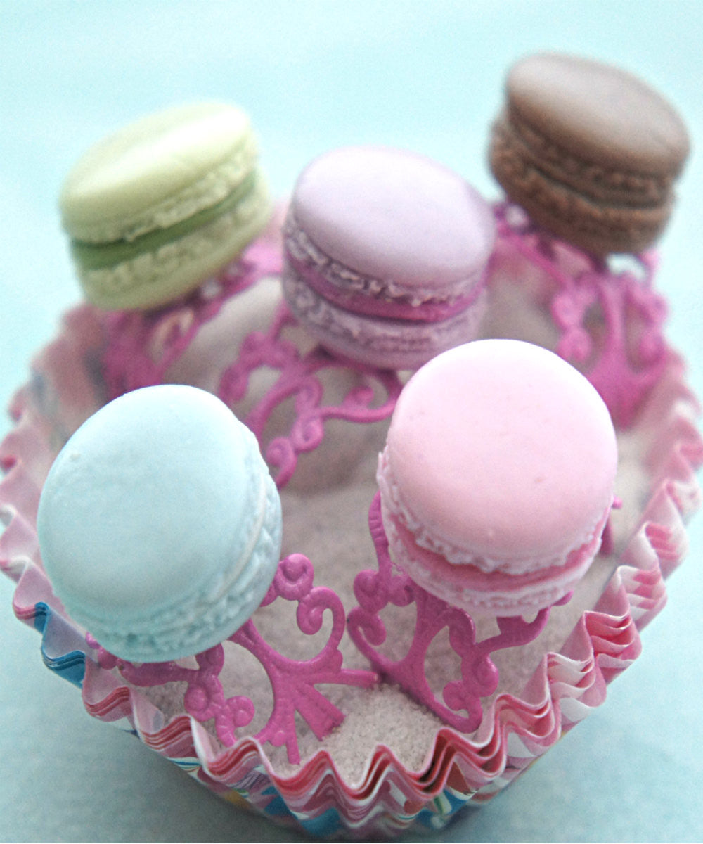 french macaron ring - Jillicious charms and accessories