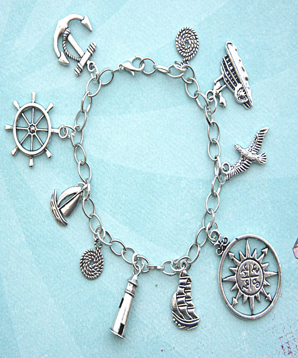 Nautical Charm Bracelet - Jillicious charms and accessories - 3