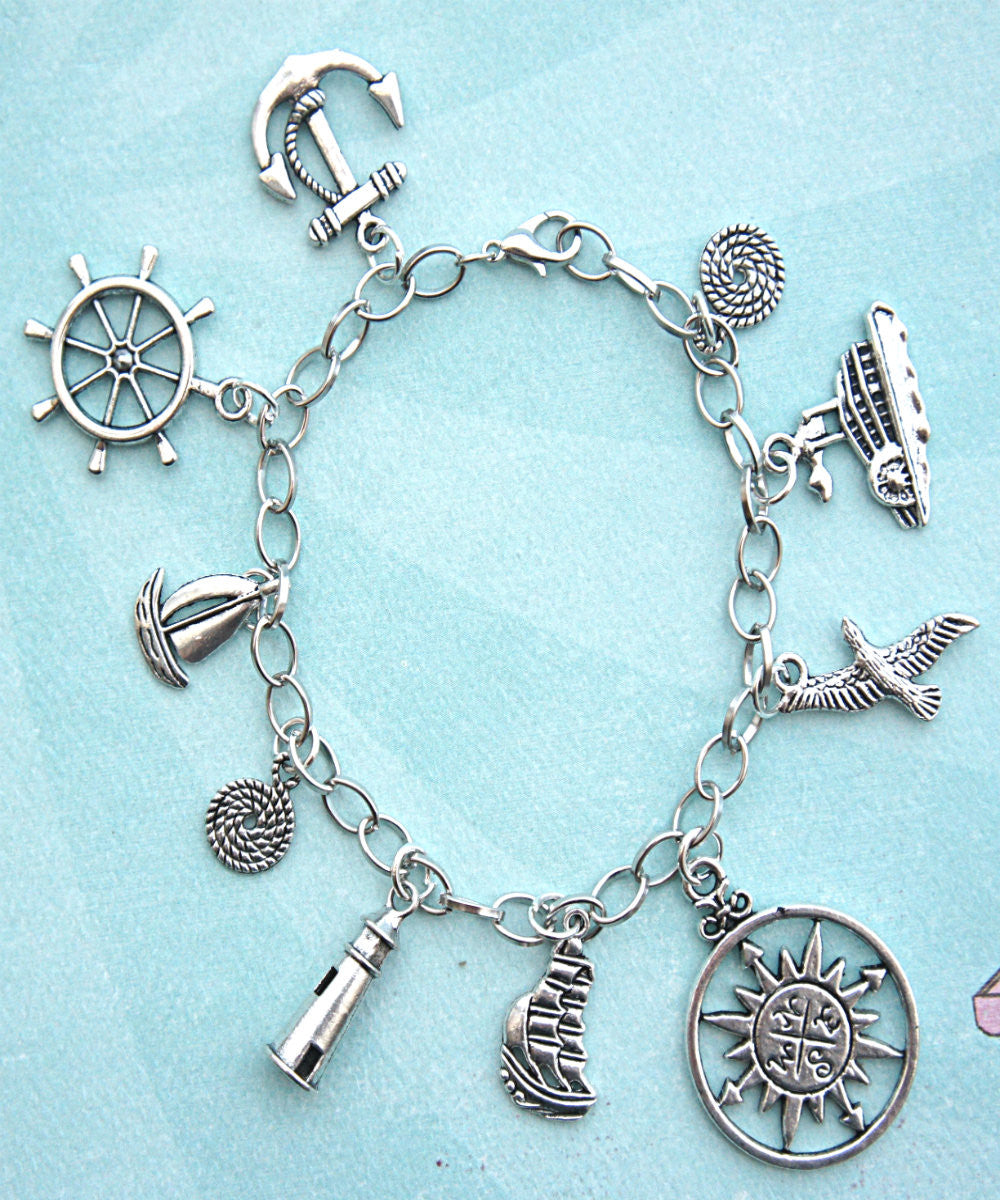 Nautical Charm Bracelet - Jillicious charms and accessories