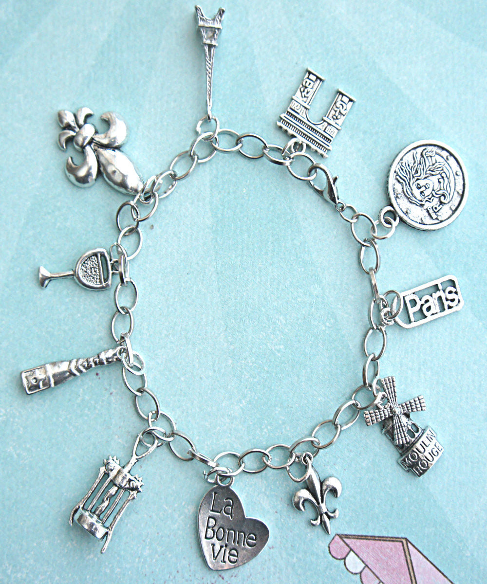 everything french charm bracelet - Jillicious charms and accessories