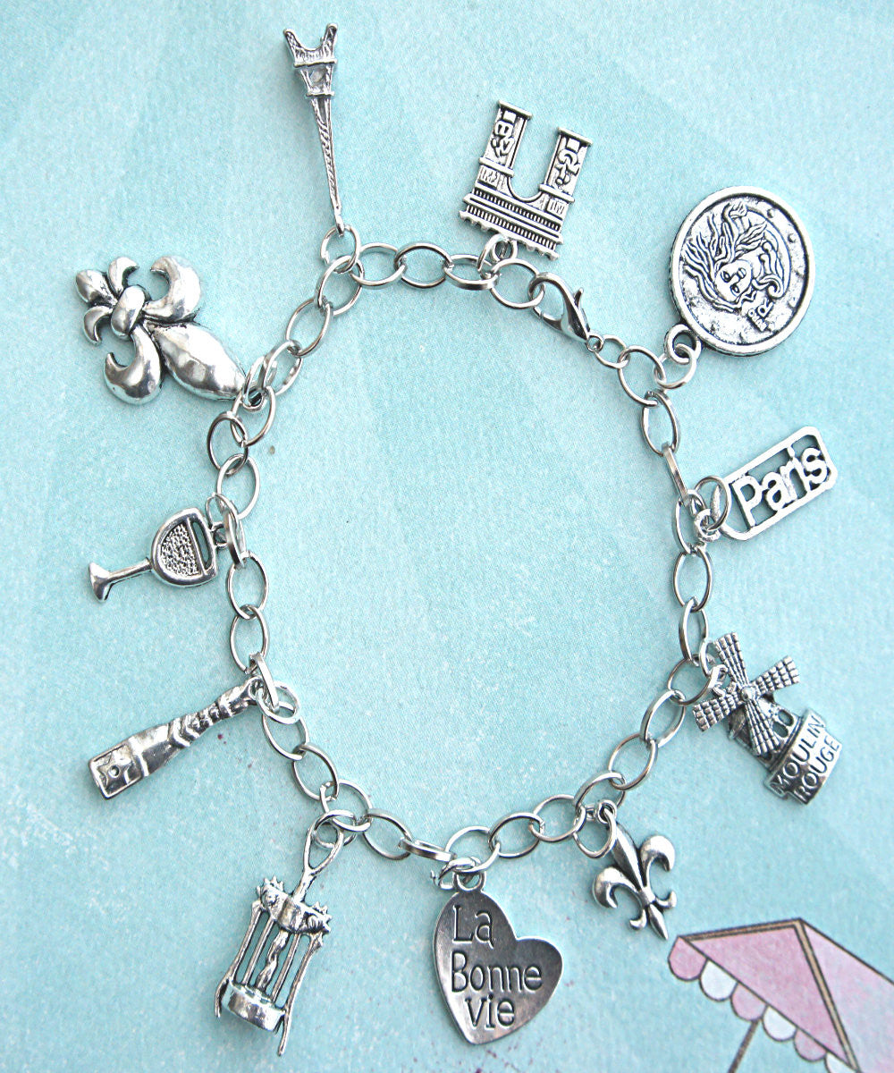 everything french charm bracelet - Jillicious charms and accessories - 3