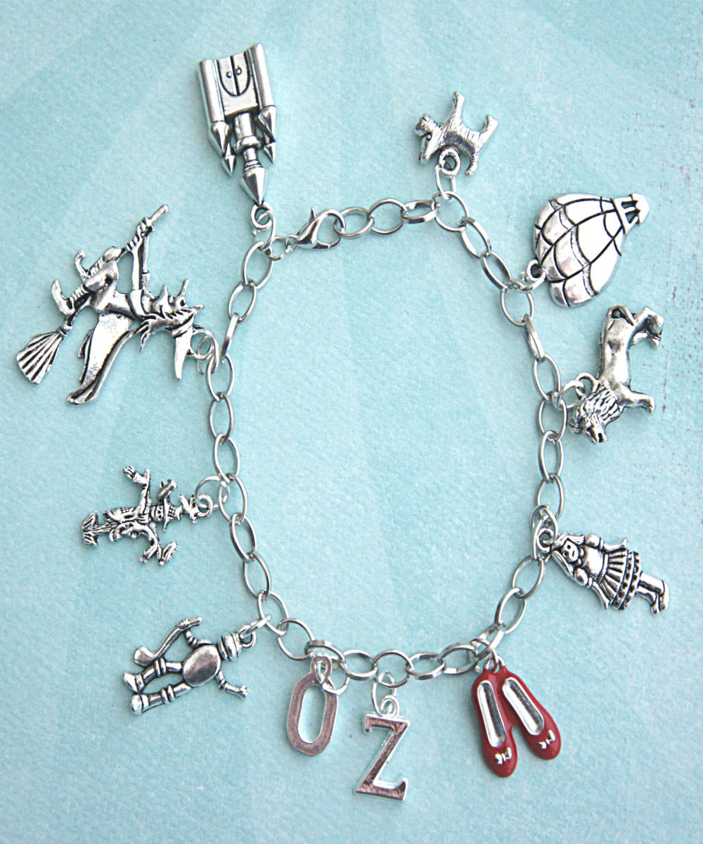 The Wizard of Oz Inspired Charm Bracelet - Jillicious charms and accessories - 1