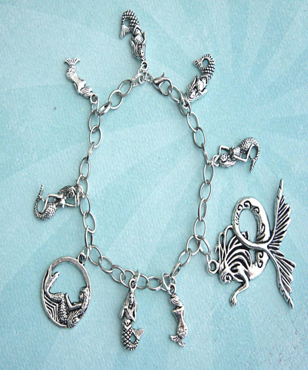 Mermaid Charm Bracelet - Jillicious charms and accessories - 2