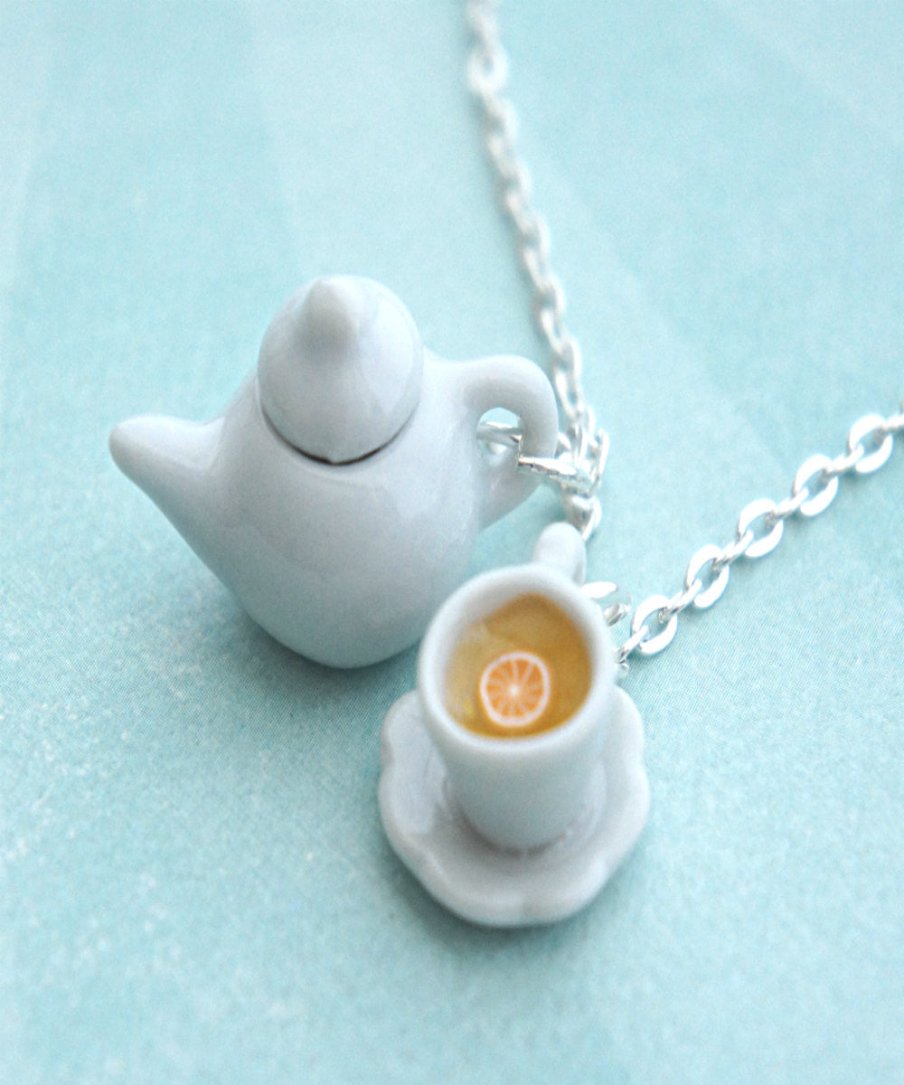 Tea Set Necklace - Jillicious charms and accessories - 2