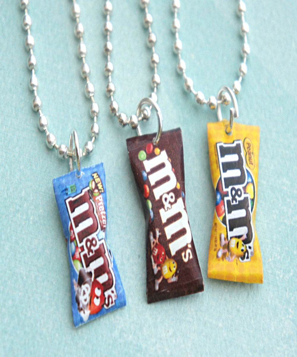 M&m's Candy Bag Necklace - Jillicious charms and accessories - 1