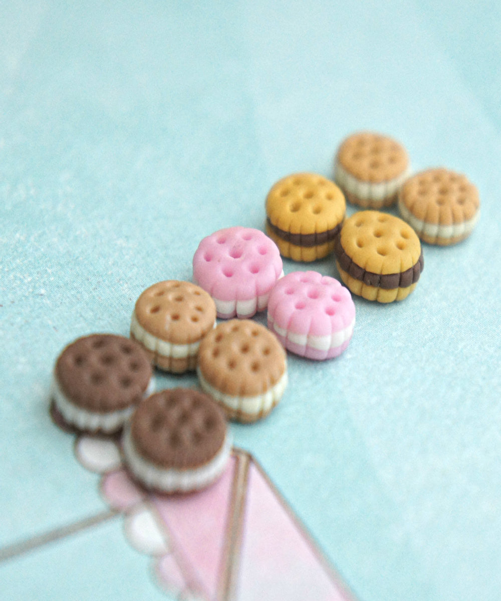 cookie sandwich earrings - Jillicious charms and accessories