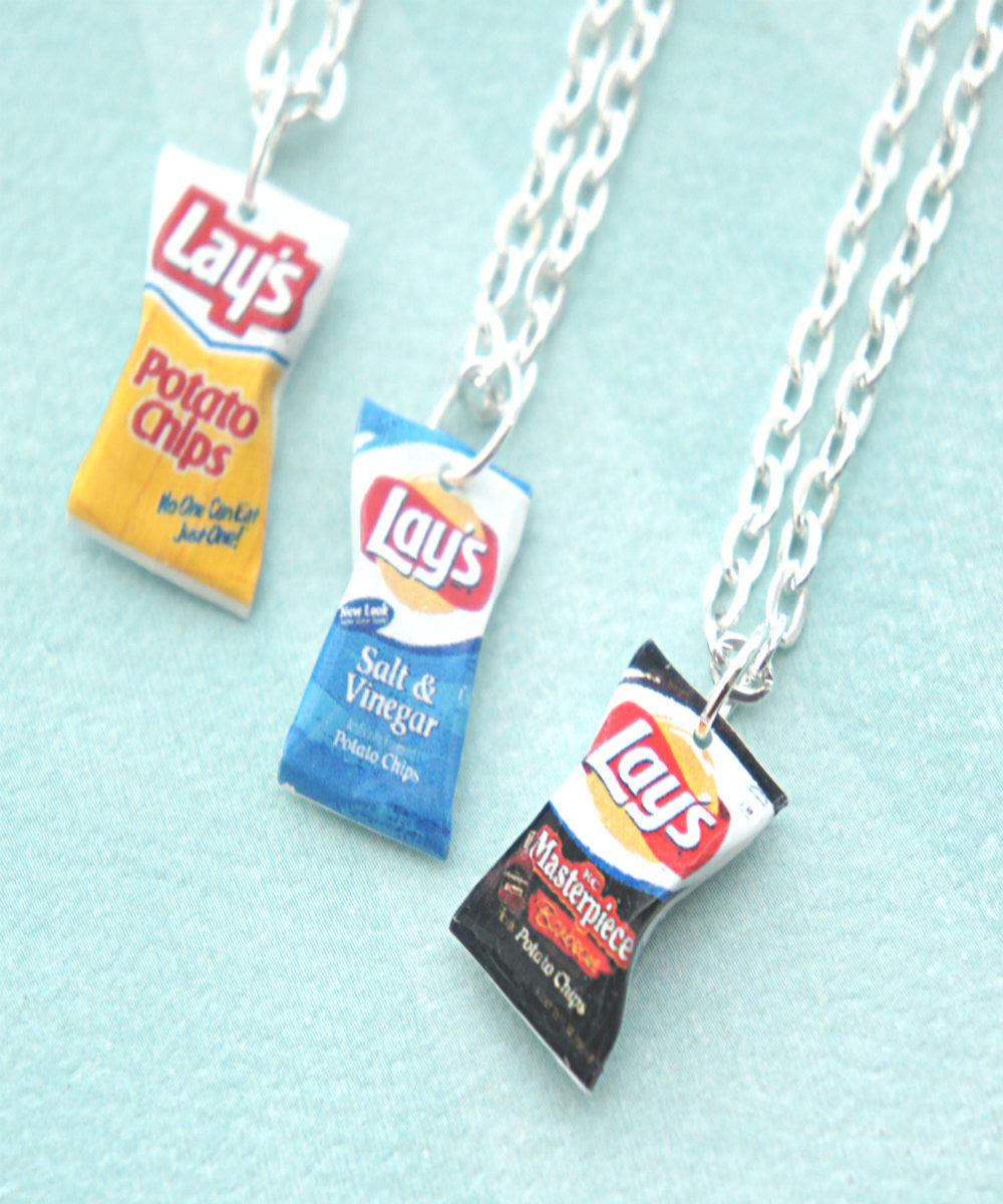 Lay's Potato Chips Necklace - Jillicious charms and accessories - 1