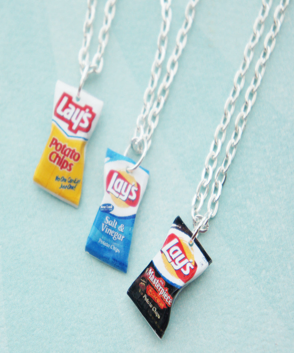 Lay's Potato Chips Necklace - Jillicious charms and accessories