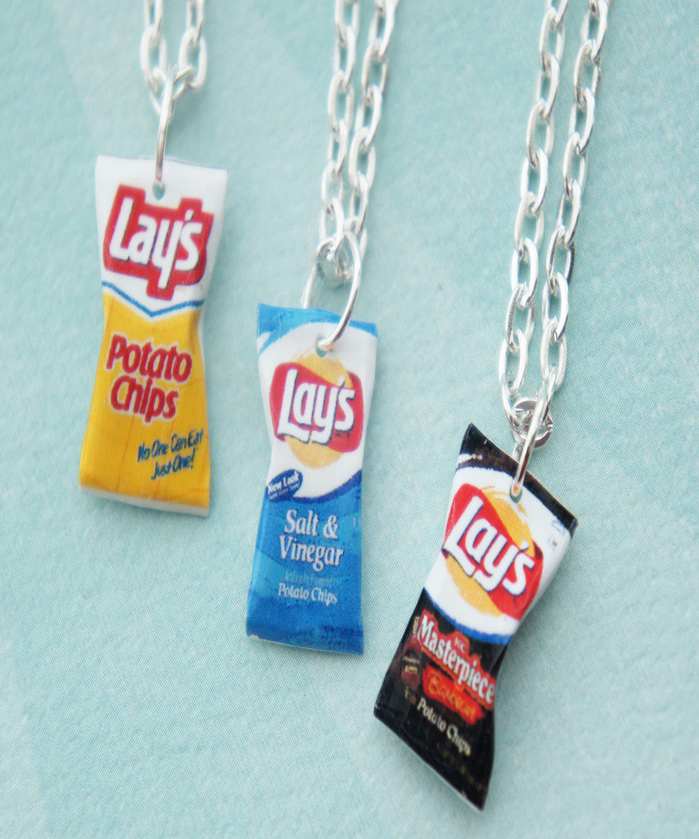 Lay's Potato Chips Necklace - Jillicious charms and accessories - 3