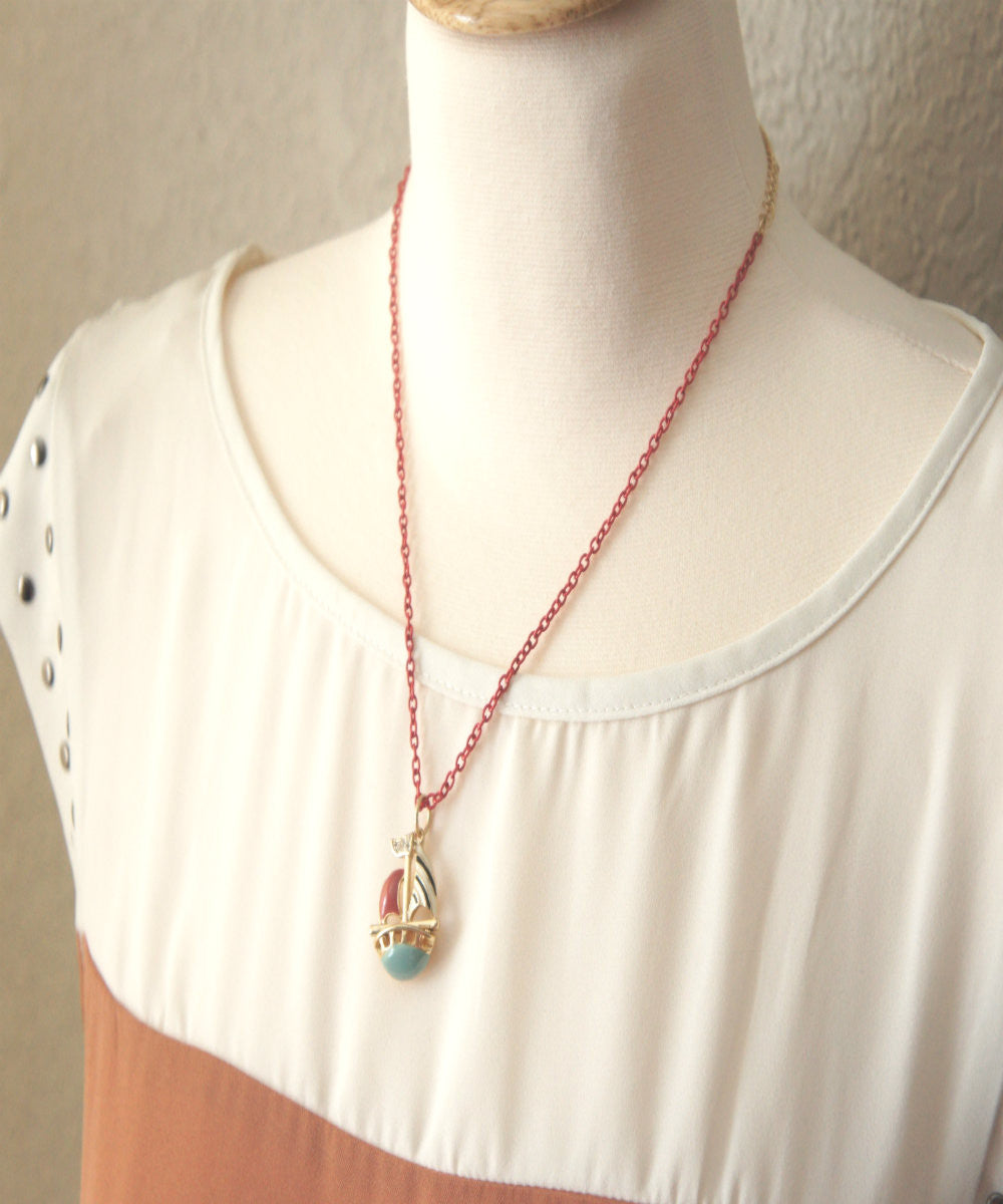 Sailboat Necklace - Jillicious charms and accessories - 3