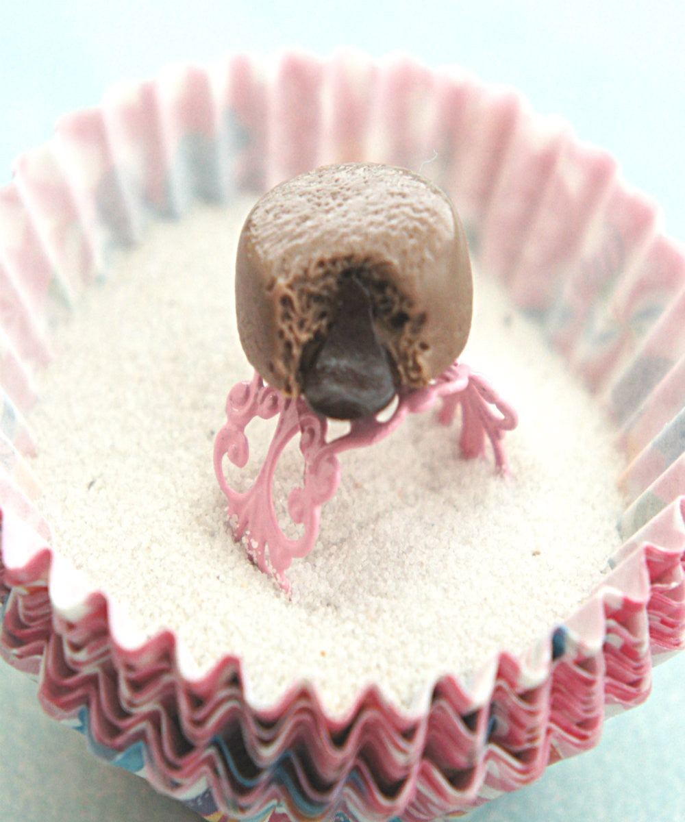 choco lava cake ring - Jillicious charms and accessories