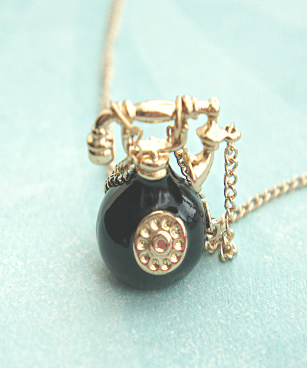 Vintage Telephone Necklace - Jillicious charms and accessories - 3
