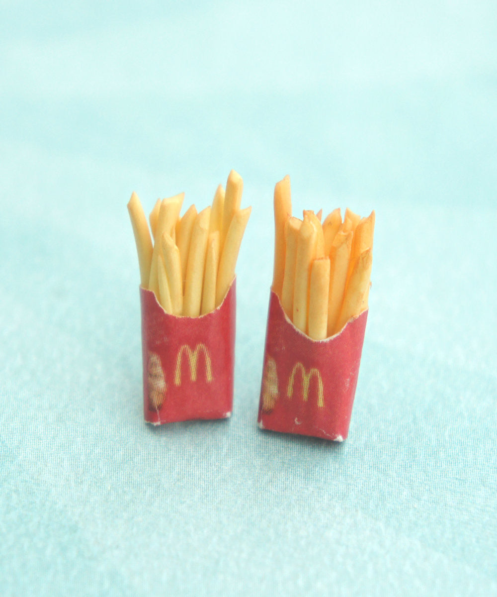 french fries earrings - Jillicious charms and accessories - 2
