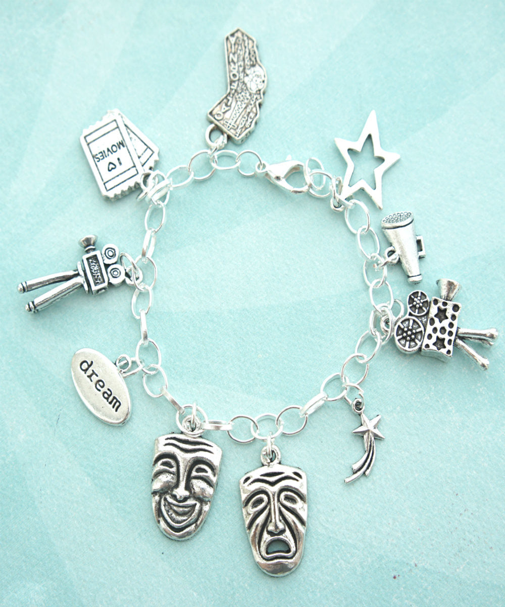 Theater Actor Charm Bracelet - Jillicious charms and accessories - 2