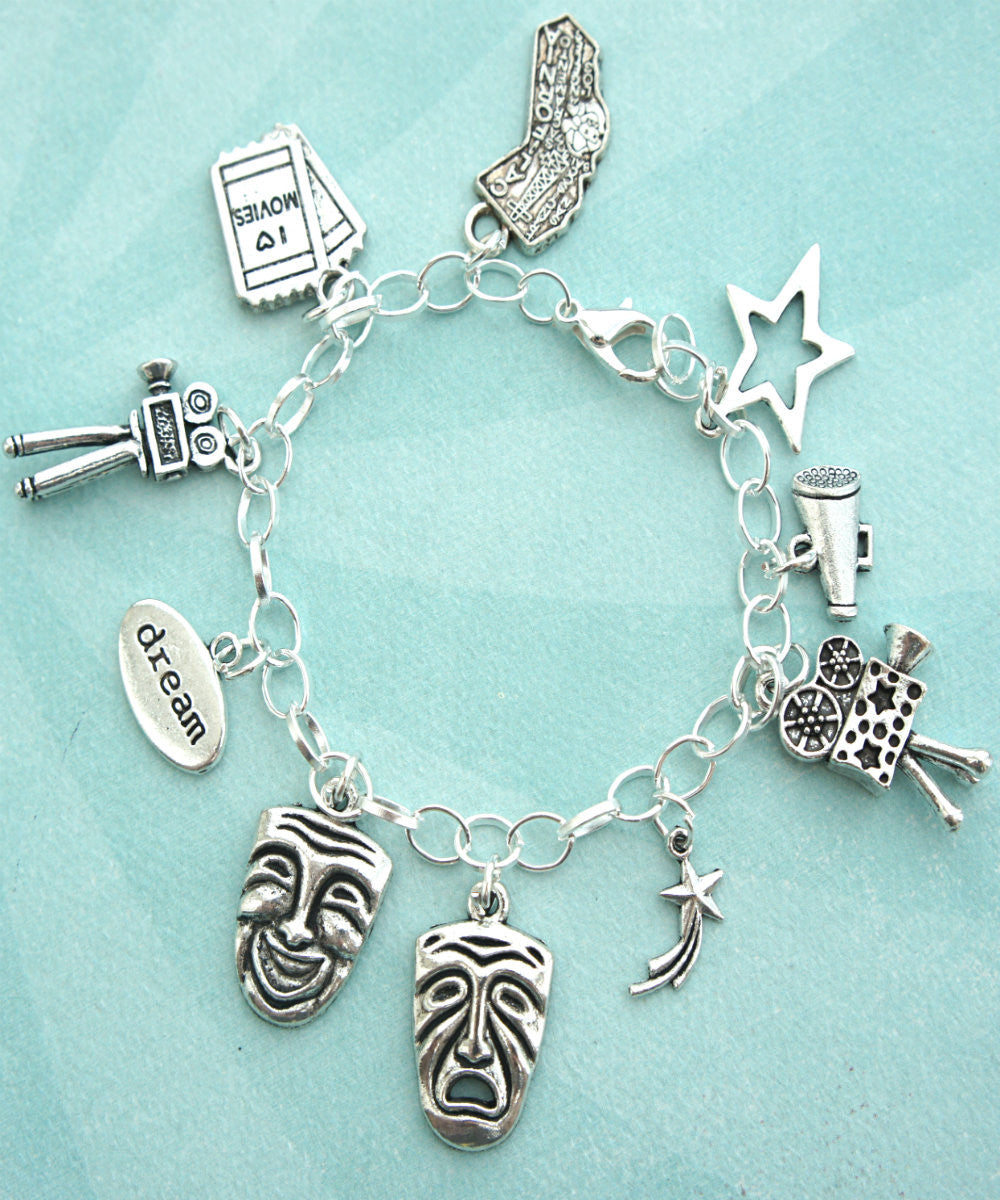 Theater Actor Charm Bracelet - Jillicious charms and accessories - 1
