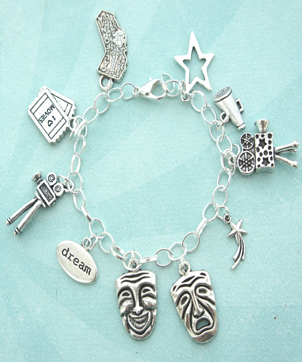 Theater Actor Charm Bracelet - Jillicious charms and accessories - 3