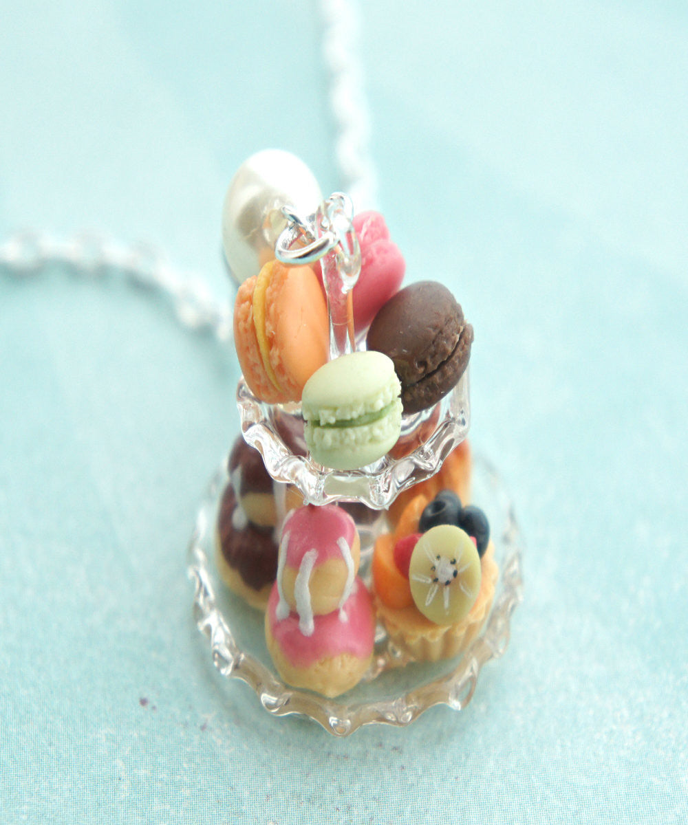 french pastries necklace - Jillicious charms and accessories - 2