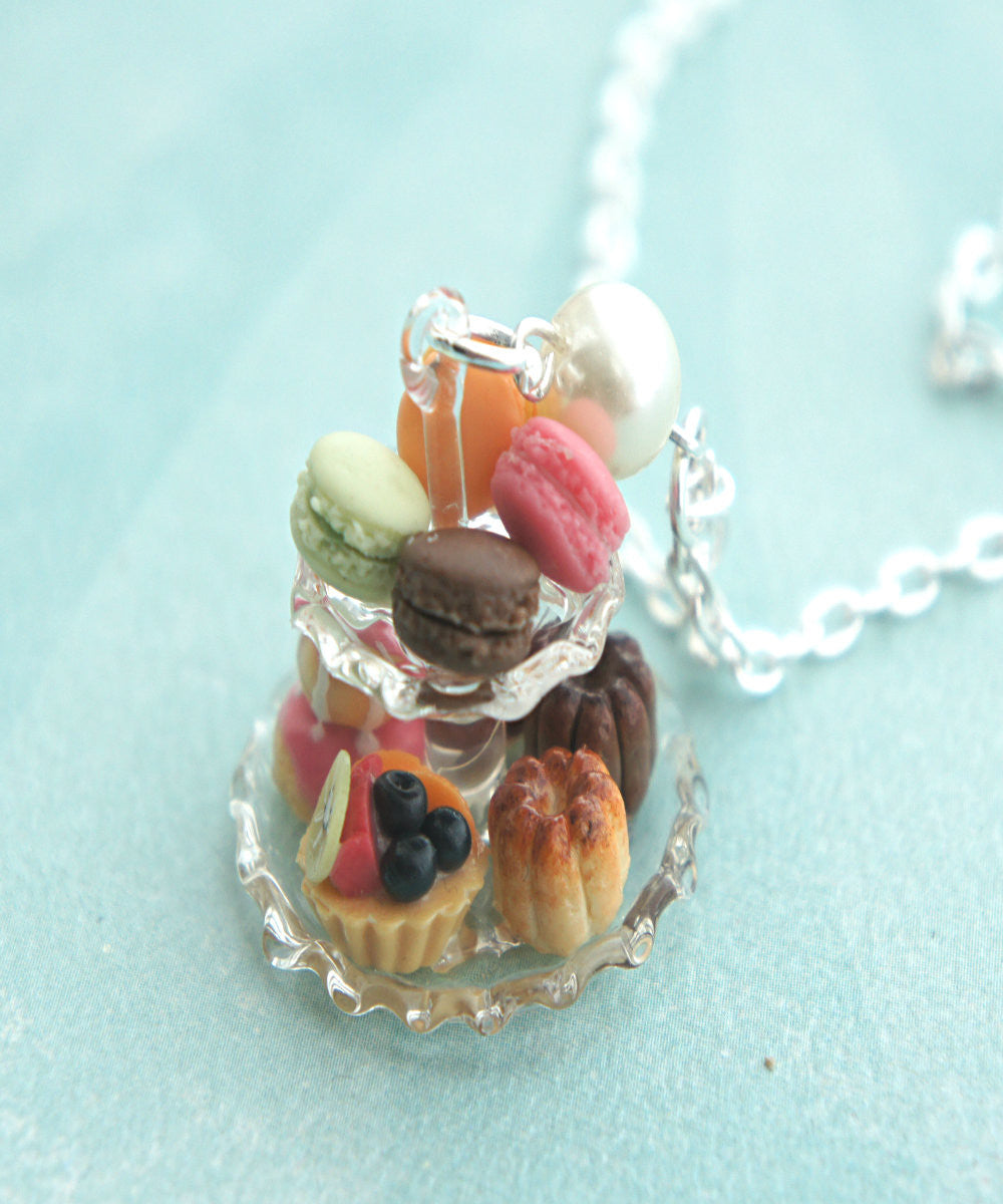 french pastries necklace - Jillicious charms and accessories - 3