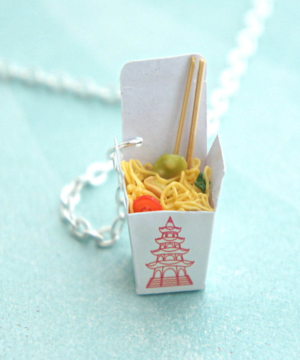 chow mein noodles necklace - Jillicious charms and accessories - 4