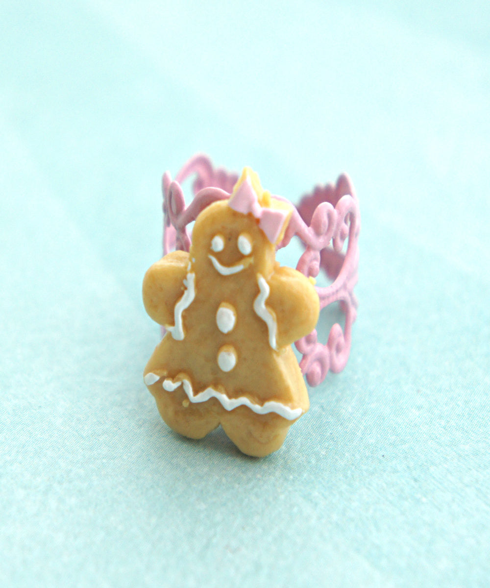 gingerbread cookie ring - Jillicious charms and accessories - 3