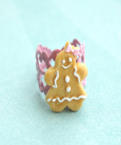 gingerbread cookie ring - Jillicious charms and accessories - 1
