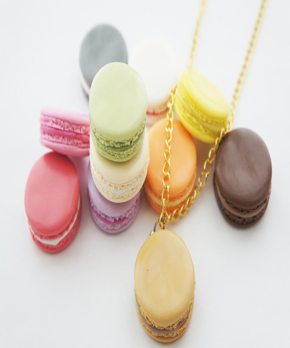 french macaron necklace - Jillicious charms and accessories - 1