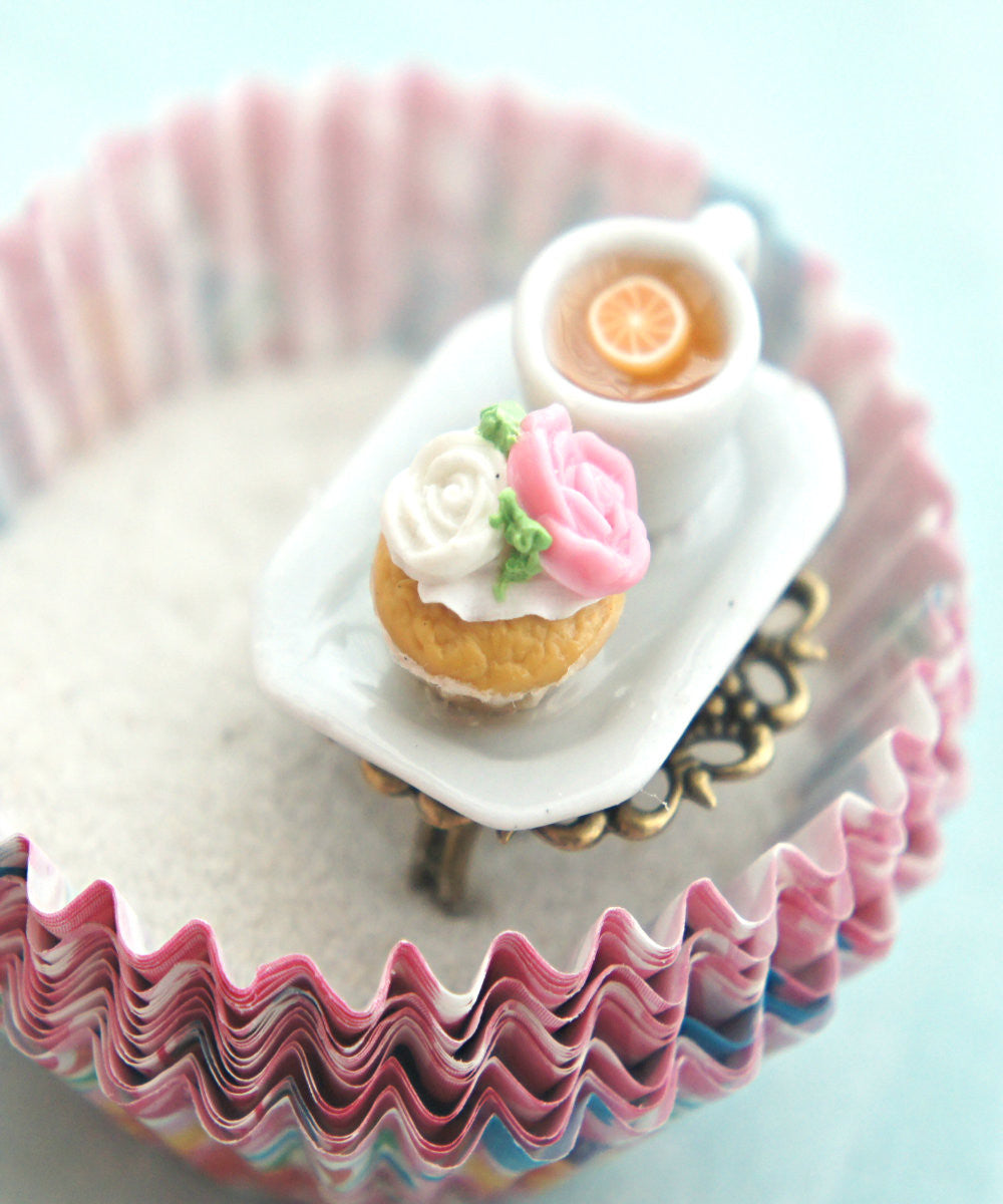 rose cupcake and tea ring - Jillicious charms and accessories - 3