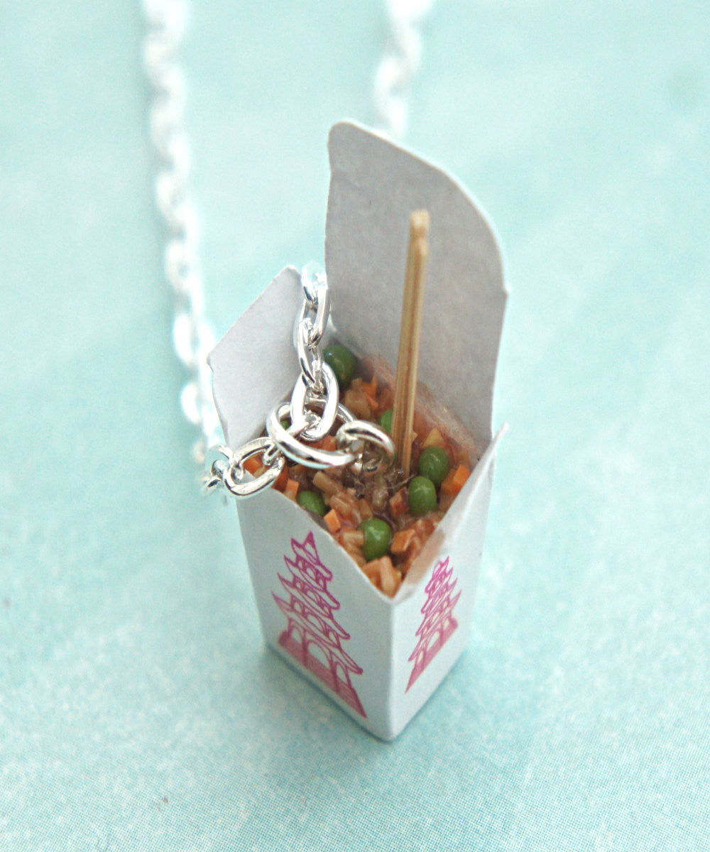 fried rice necklace - Jillicious charms and accessories - 1