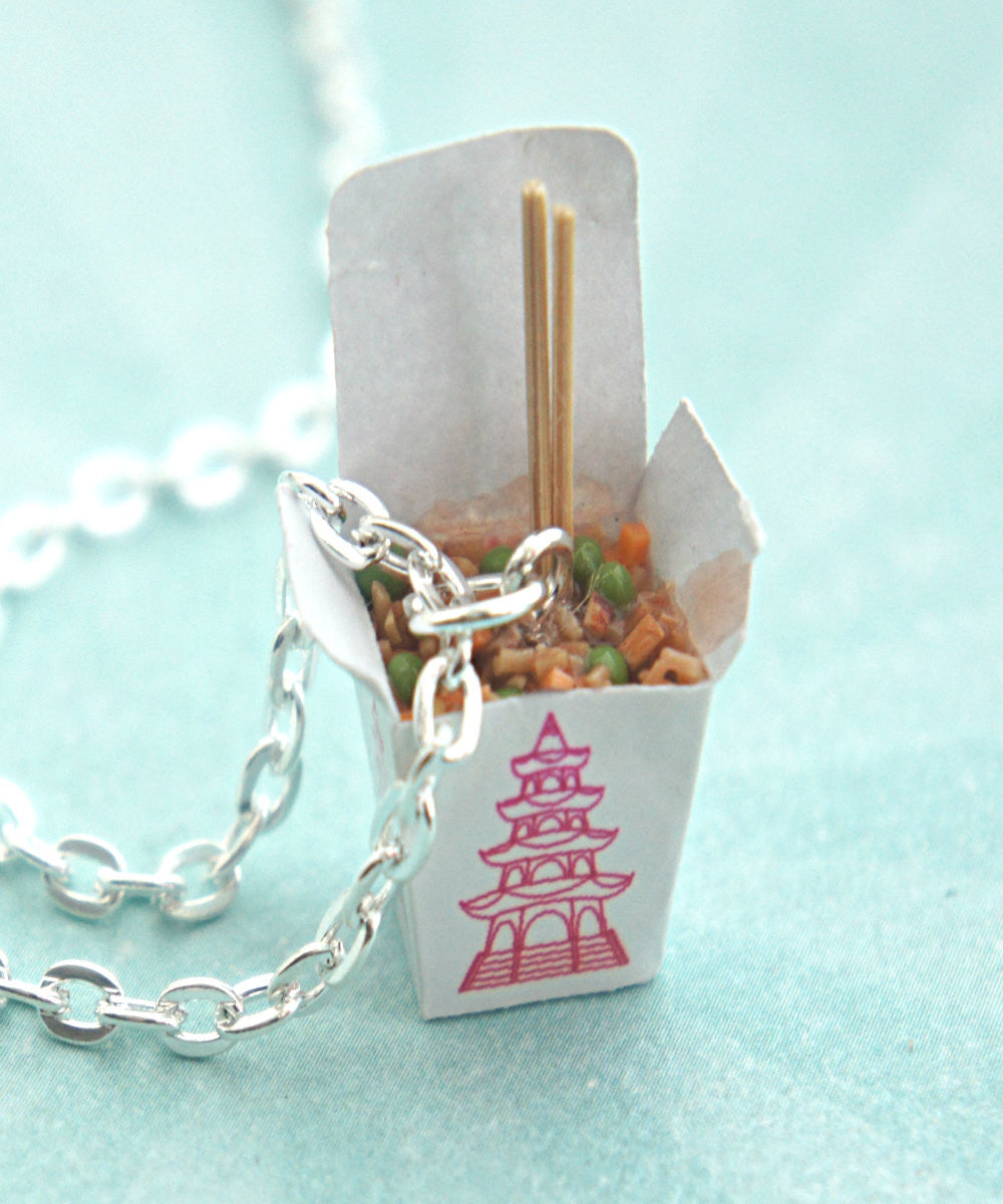 fried rice necklace - Jillicious charms and accessories