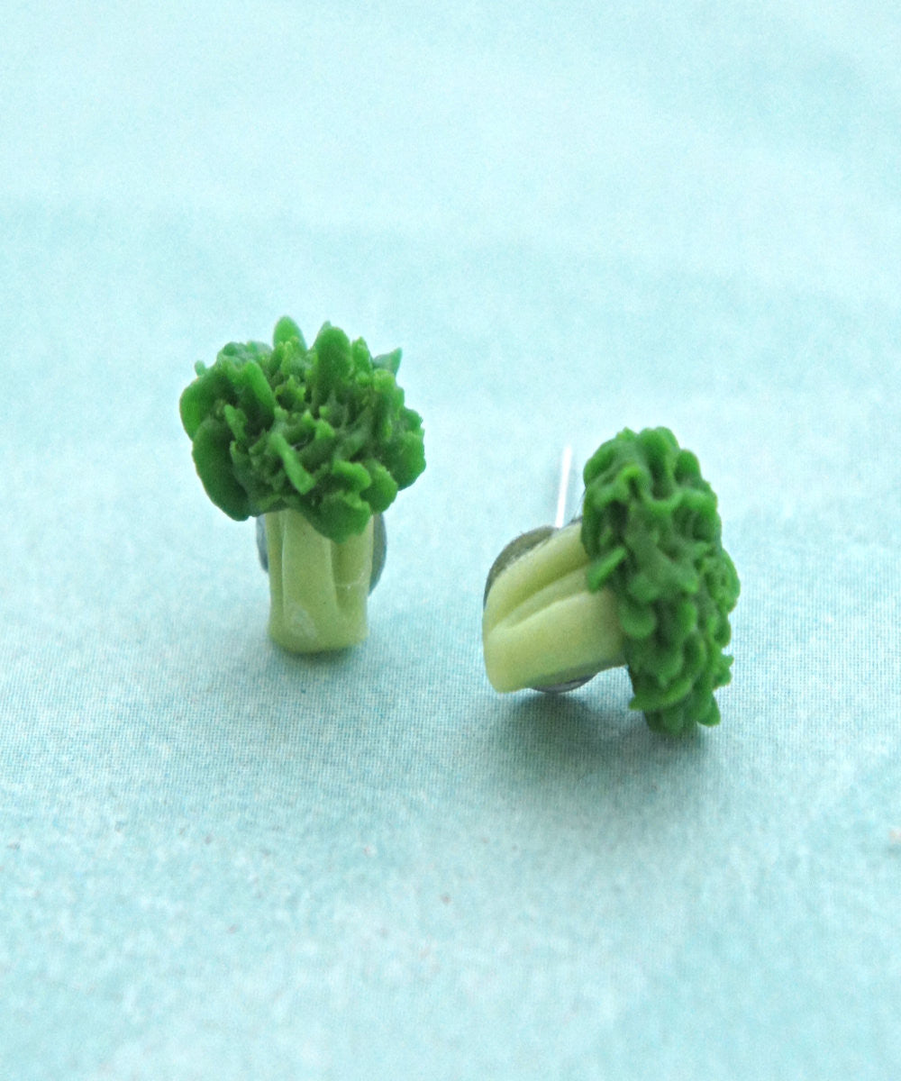 Broccoli Stud Earrings - Jillicious charms and accessories - 2