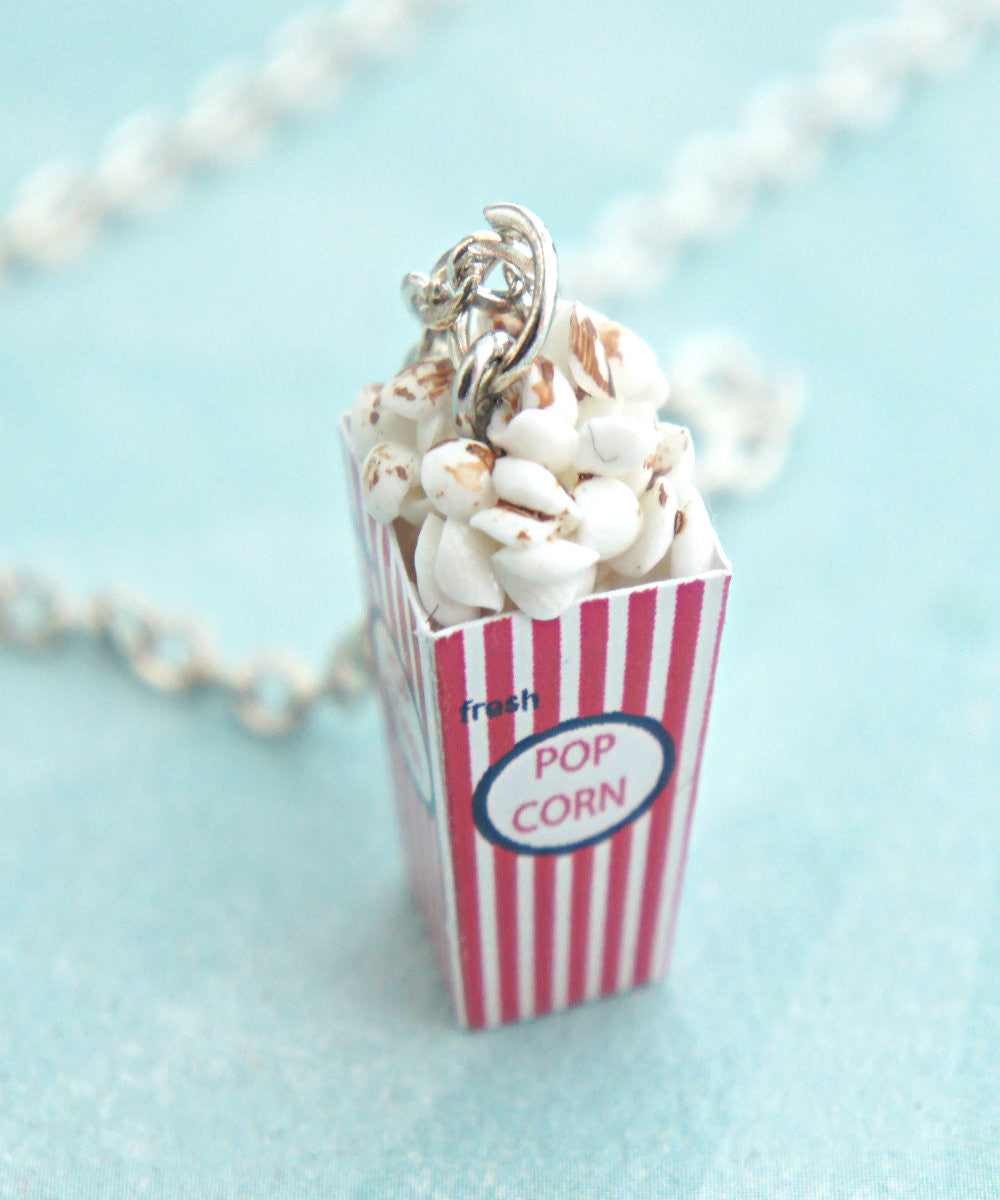 Popcorn Necklace - Jillicious charms and accessories - 1