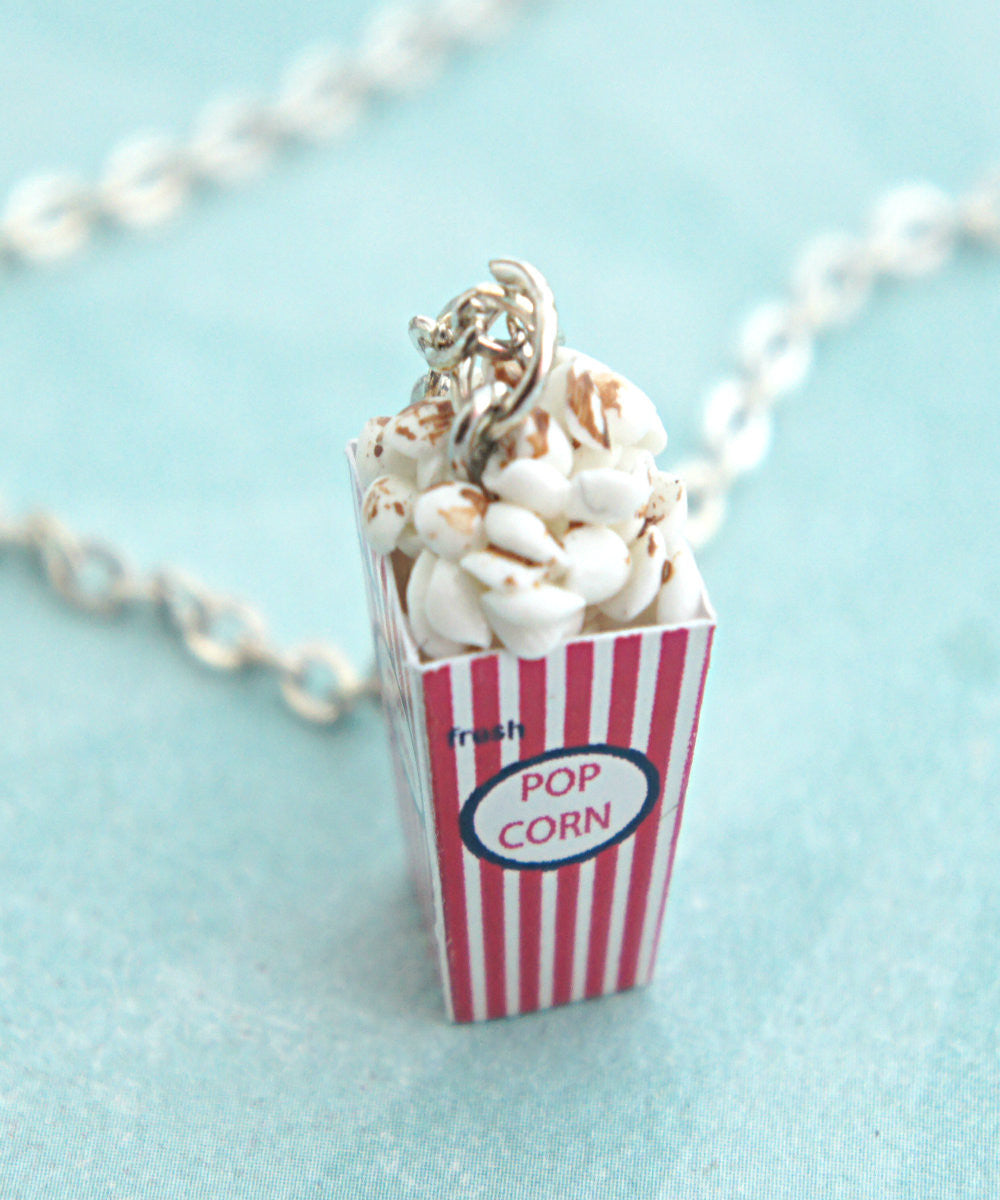 Popcorn Necklace - Jillicious charms and accessories