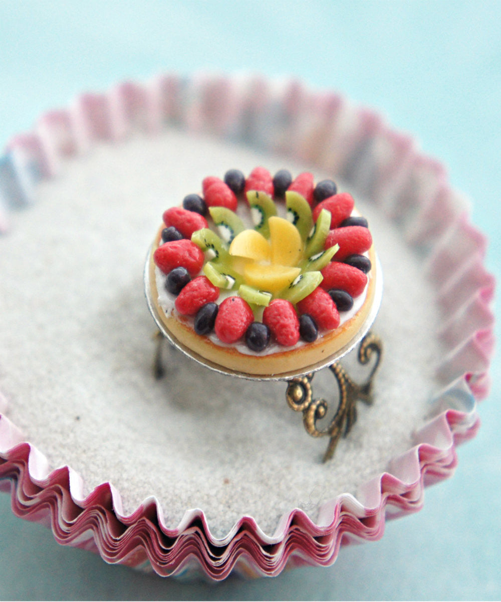 Mixed Fruit Pie Ring - Jillicious charms and accessories