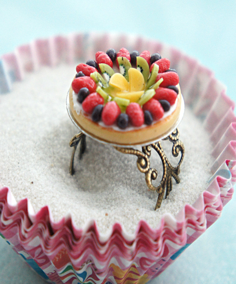 Mixed Fruit Pie Ring - Jillicious charms and accessories - 1