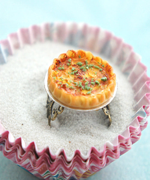 cheese quiche ring - Jillicious charms and accessories