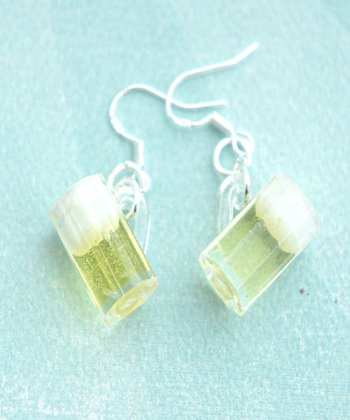 Beer Mug Dangle Earrings - Jillicious charms and accessories - 1
