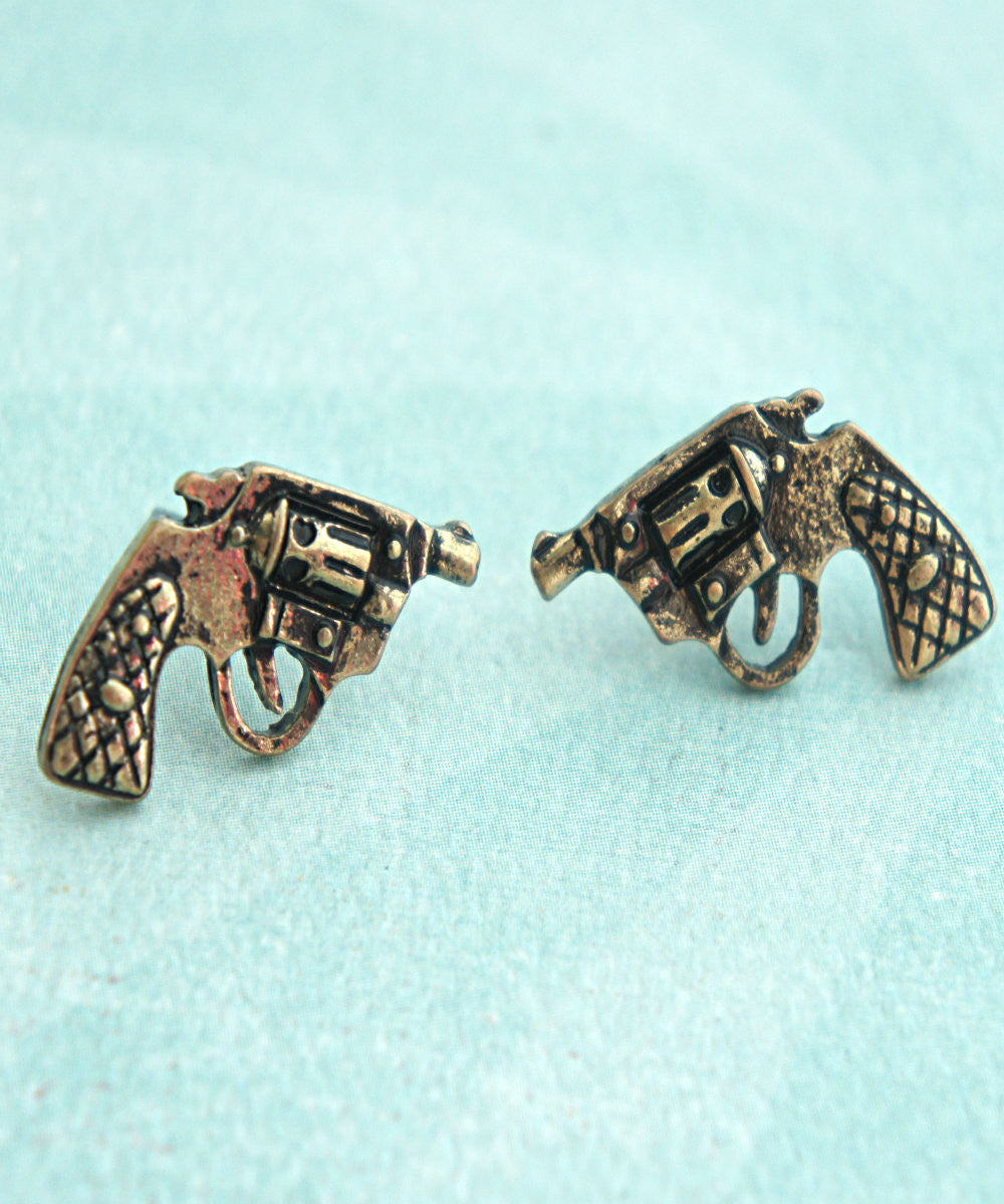 pistol earrings - Jillicious charms and accessories - 4