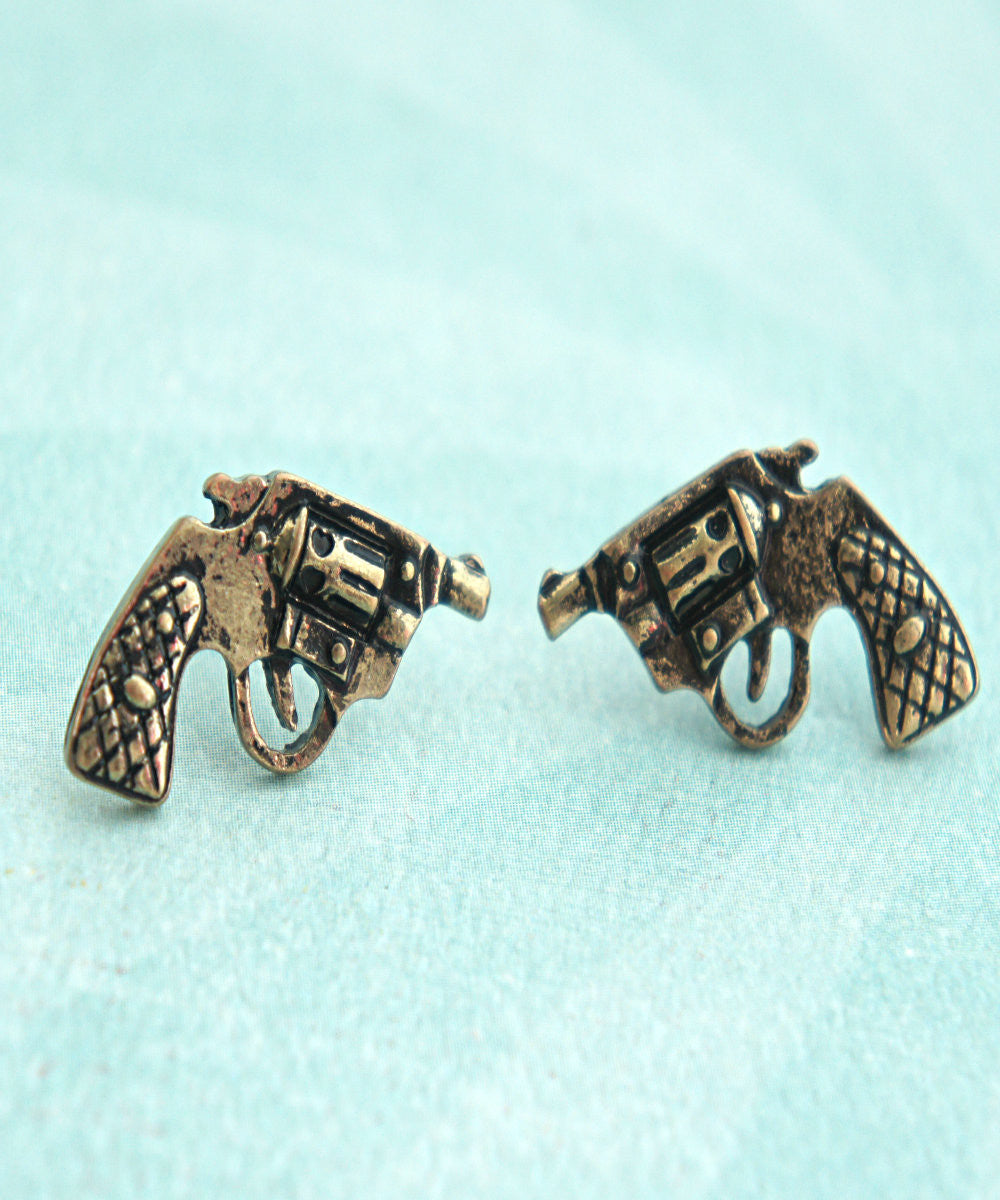 pistol earrings - Jillicious charms and accessories - 1